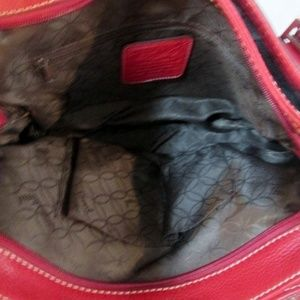 Fossil Bags - FOSSIL leather satchel tote bowler purse carryall